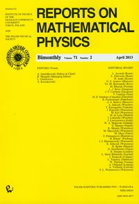 Reports on Mathematical Physics 54/2 wer.kraj. - brak