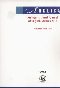 Anglica An International Journal of English Studies 21/2 2012 - brak